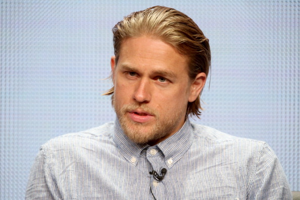 BEVERLY HILLS, CA - JULY 21: Actor Charlie Hunnam speaks onstage at the'Sons of Anarchy' panel during the FX Networks portion of the 2014 Summer Television Critics Association at The Beverly Hilton Hotel on July 21, 2014 in Beverly Hills, California. (Photo by Frederick M. Brown/Getty Images)
