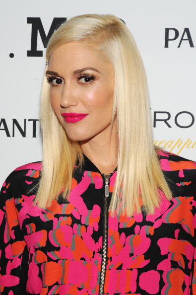 NEW YORK, NY - SEPTEMBER 05: Designer Gwen Stefani attends the L.A.M.B. presentation during Mercedes-Benz Fashion Week Spring 2015 on September 5, 2014 in New York City. (Photo by Bryan Bedder/Getty Images for L.A.M.B.)