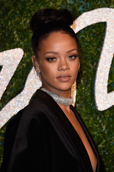 LONDON, ENGLAND - DECEMBER 01: Rihanna attends the British Fashion Awards at London Coliseum on December 1, 2014 in London, England. (Photo by Pascal Le Segretain/Getty Images)