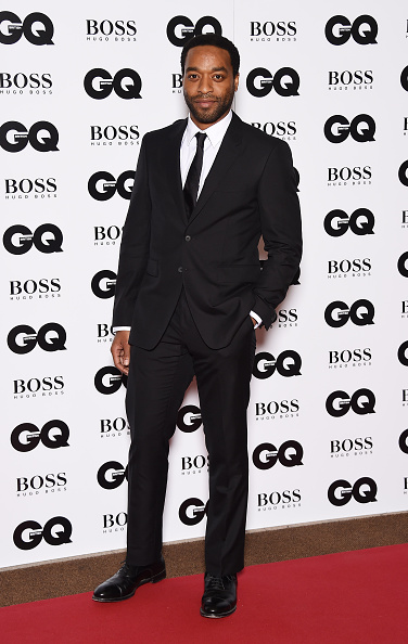 LONDON, ENGLAND - SEPTEMBER 08: Chiwitel Ejiofor attends the GQ Men Of The Year Awards at The Royal Opera House on September 8, 2015 in London, England. (Photo by Gareth Cattermole/Getty Images)
