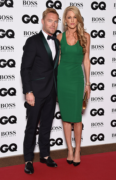LONDON, ENGLAND - SEPTEMBER 08: Ronan Keating and Storm Uechtritz attend the GQ Men Of The Year Awards at The Royal Opera House on September 8, 2015 in London, England. (Photo by Gareth Cattermole/Getty Images)