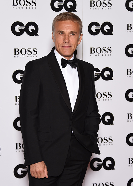 LONDON, ENGLAND - SEPTEMBER 08: Christoph Waltz attends the GQ Men Of The Year Awards at The Royal Opera House on September 8, 2015 in London, England. (Photo by Gareth Cattermole/Getty Images)