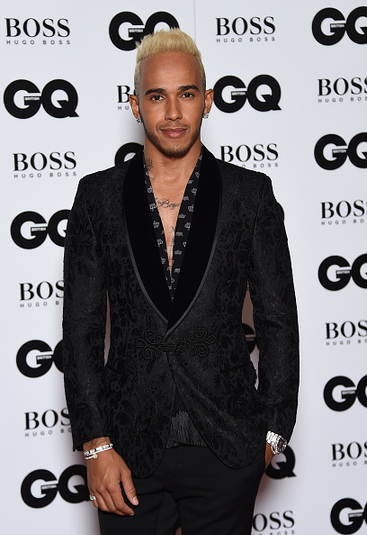 LONDON, ENGLAND - SEPTEMBER 08: Lewis Hamilton attends the GQ Men Of The Year Awards at The Royal Opera House on September 8, 2015 in London, England. (Photo by Gareth Cattermole/Getty Images)