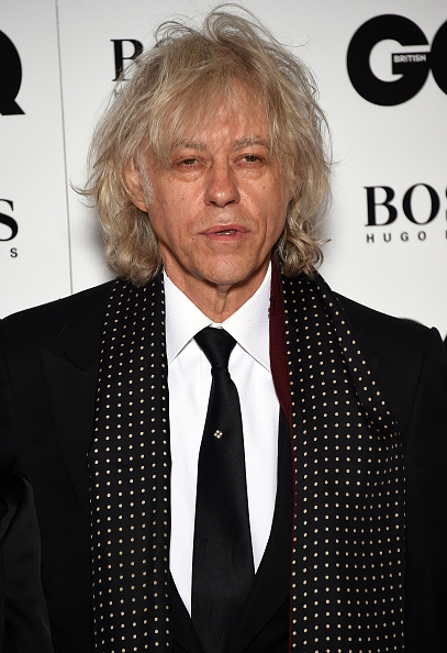 LONDON, ENGLAND - SEPTEMBER 08: Sir Bob Geldof attends the GQ Men Of The Year Awards at The Royal Opera House on September 8, 2015 in London, England. (Photo by Gareth Cattermole/Getty Images)