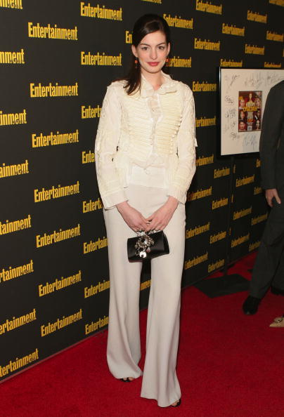NEW YORK - FEBRUARY 27: Actress Anne Hathaway attends Entertainment Weekly's Oscar Viewing Party at Elaine's on February 27, 2005 in New York City. (Photo by Thos Robinson/Getty Images)