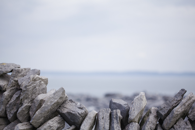 A traditional stone wall in the Aran Islands. Image: Nathalie Marquez Courtney
