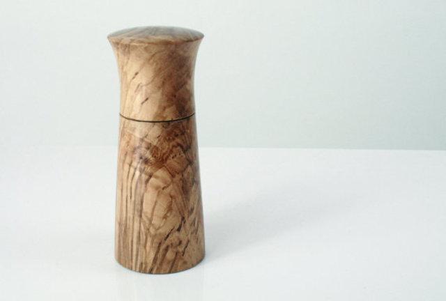 Pepper grinder by Matt Jones Turning, €50, Etsy.