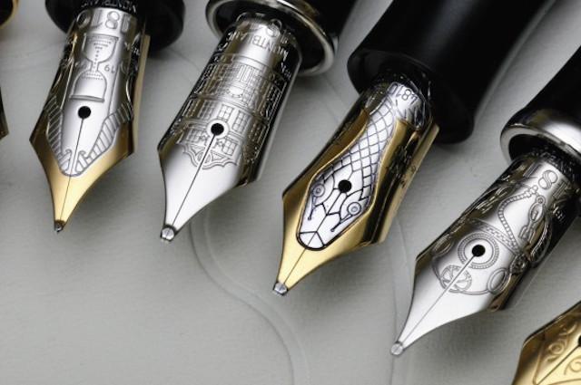 Montblanc fountain pen set
