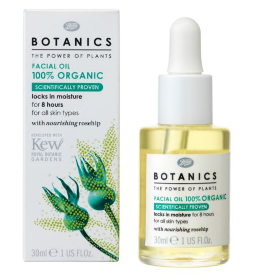 Botanics Organic Facial Oil, €14.99