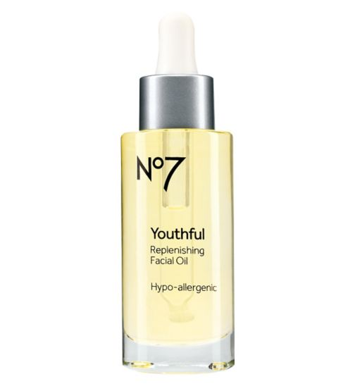 No7 Youthful Replenishing Facial Oil , €30.50