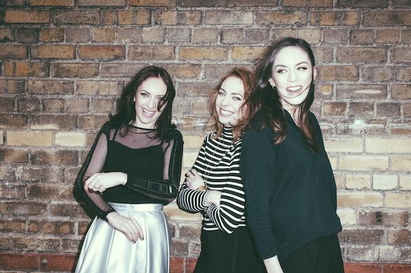 Jennie, Sarah and Grace McGinn, OPSH