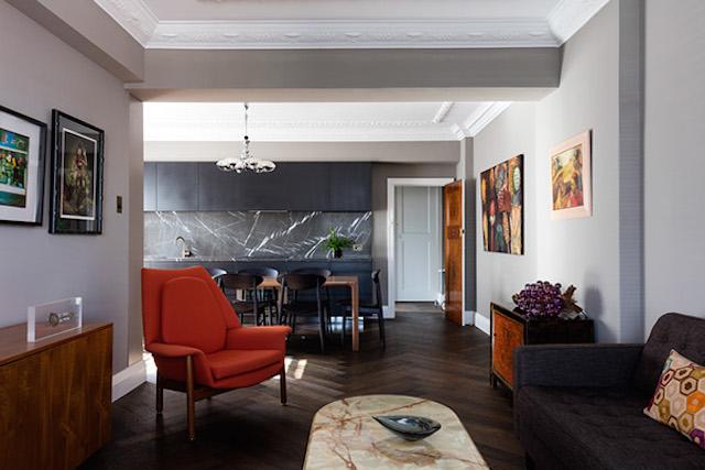 Interiors Pinspiration: Autumnal Colour Schemes   Image via TFAD architects.