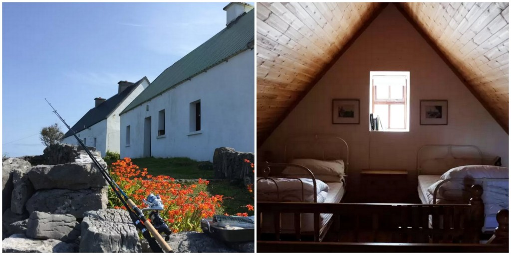 Leonard's cottage, Inis Me?in, Aran Islands, Co. Galway