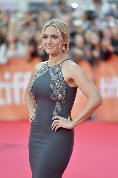 "Actress Kate Winslet attends ""The Dressmaker"" premiere during the 2015 Toronto International Film Festival at Roy Thomson Hall on September 14, 2015 in Toronto, Canada."