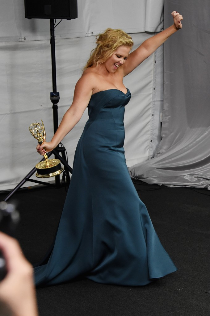 Schumer at the Emmys 2015.