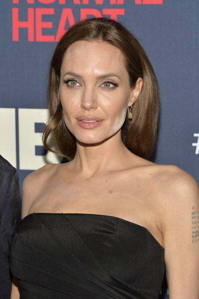 Not even Angelina Jolie can escape the photo fail. We feel you Angie...