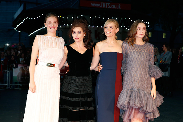 Romola Garai, Helena Bonham Carter, Anne-Marie Duff and Carey Mulligan