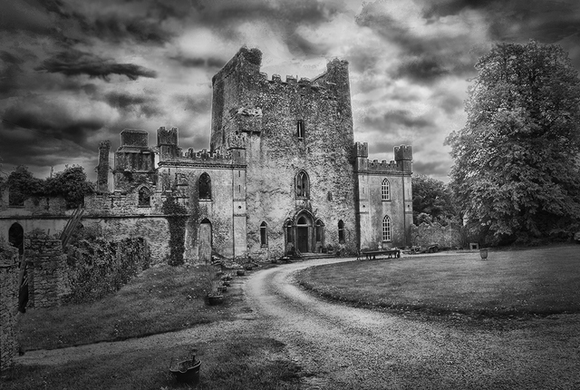 Visit One of Ireland's Most Haunted Houses this Halloween| Image via afar.com