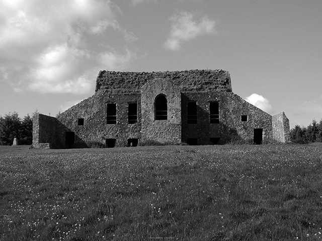 Visit One of Ireland's Most Haunted Houses this Halloween | Image via southdublinlibraries.ie