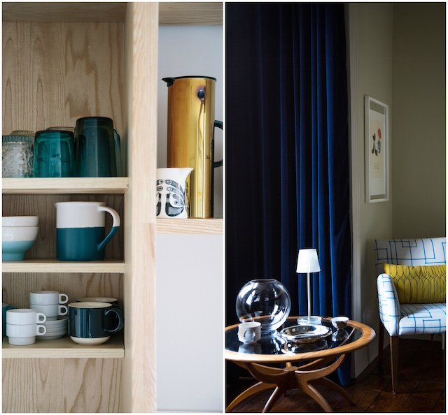 Details from the Drumcondra home of Article's John Adams. Photography by Doreen Kilfeather