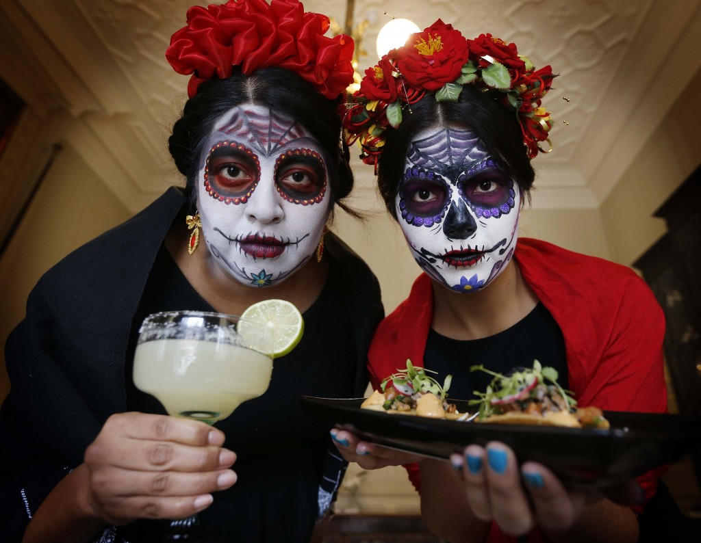 The Taste of Mexico festival was launched this weekend, and had an appropriate spooky feel to it...