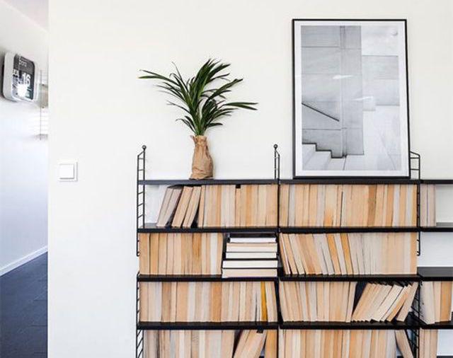 Interiors Pinspiration: Super-Svelte Storage. Image via Trendenser blog.
