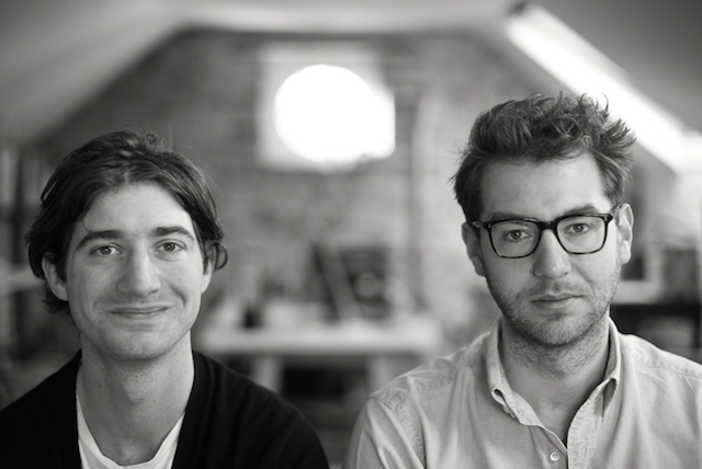 Jonathan Legge (right) of Makers & Brothers with his brother Mark