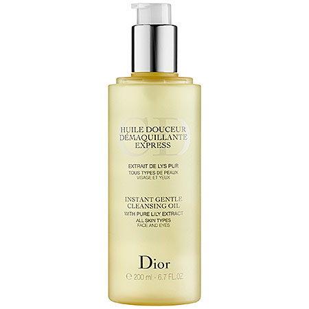 DIOR INSTANT GENTLE Cleansing Oil, €33