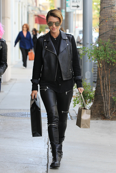 LOS ANGELES, CA - NOVEMBER 04: Ruby Rose is seen on November 04, 2015 in Los Angeles, California. (Photo by Bauer-Griffin/GC Images)