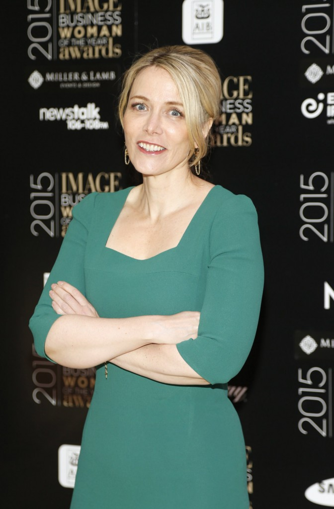 Anna Malmhake at the Image Businesswomen of the Year Awards 2015