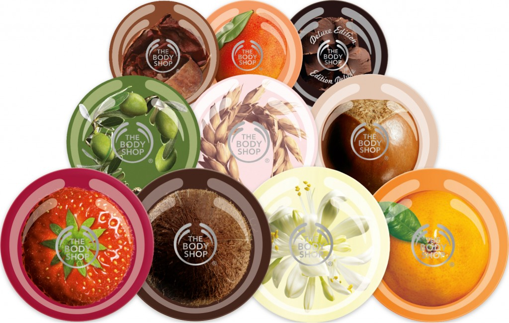 The Body Shop Body Butters, €19 each