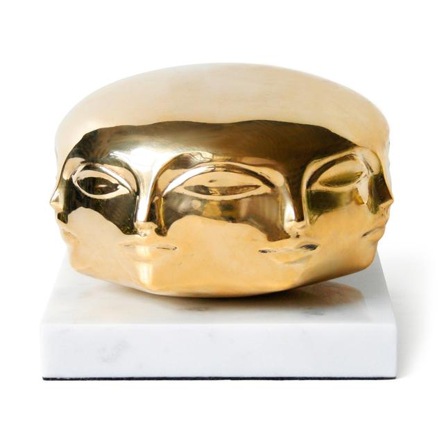 Brass Dora Maar Sculpture by Jonathan Adler