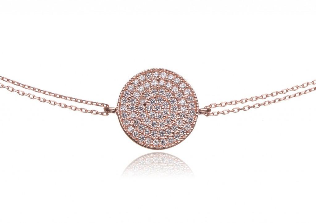 Emma's Favourite: Pave Disc Bracelet by Brilliant Inc.