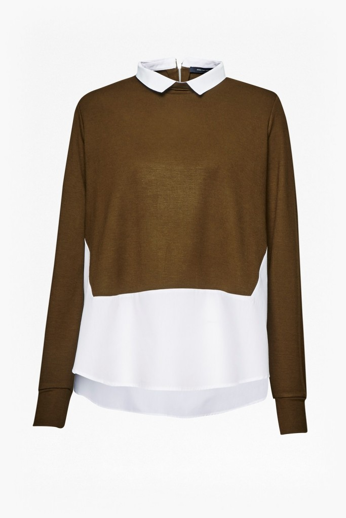 French Connection jersey shirt jumper 65eur
