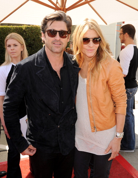 WEST HOLLYWOOD, CA - MARCH 13: Actors Patrick Dempsey (L) and his wife Jillian Dempsey arrive at John Varvatos' 8th Annual Stuart House Benefit at the John Varvatos Boutique on March 13, 2011 in West Hollywood, California. (Photo by Kevin Winter/Getty Images)