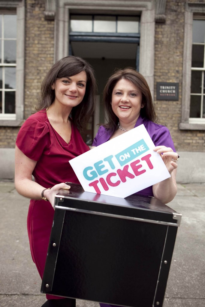Niamh Gallagher and Michelle O'Donnell Keating