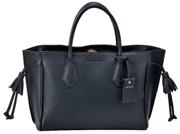 Longchamp Navy Bag