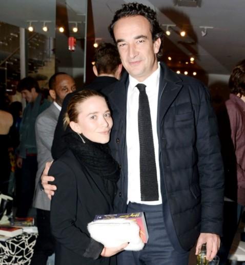 Mary-Kate Olsen with Olivier Sarkozy.