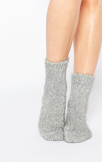 Jonathan Aston Unwind Fluffy Marl Socks €17.65, Asos.com