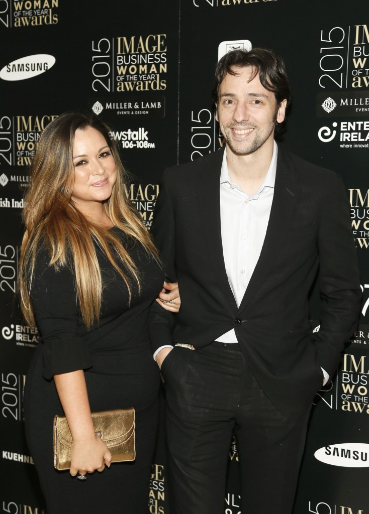 Zoe Rocha and Ralf Little at the Image Businesswomen of the Year Awards 2015