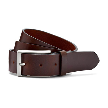 Austin Reed Leather Chunky Casual Belt Brown €50.00