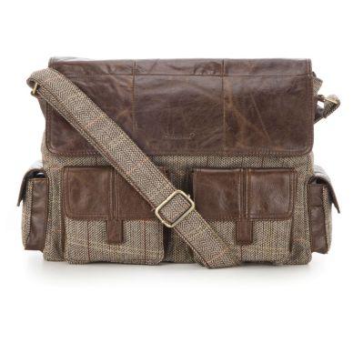 Carnaween Gweedore Laptop Bag Brown €195.00