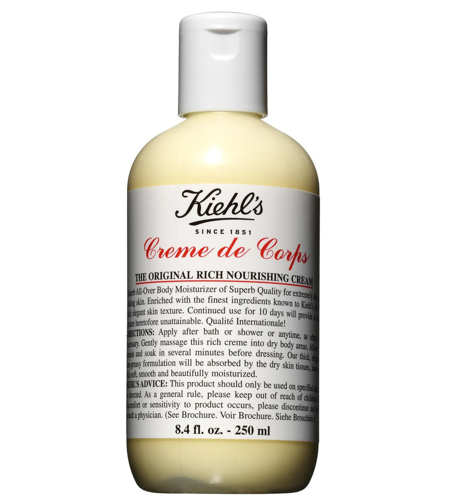 KIEHL'S CREME DE CORPS, €31 for 250ml