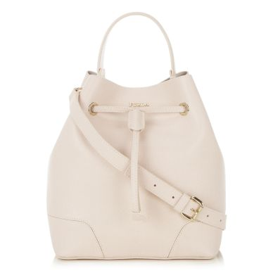 Furla Stacy Drawstring Bucket Bag Light Pink €260