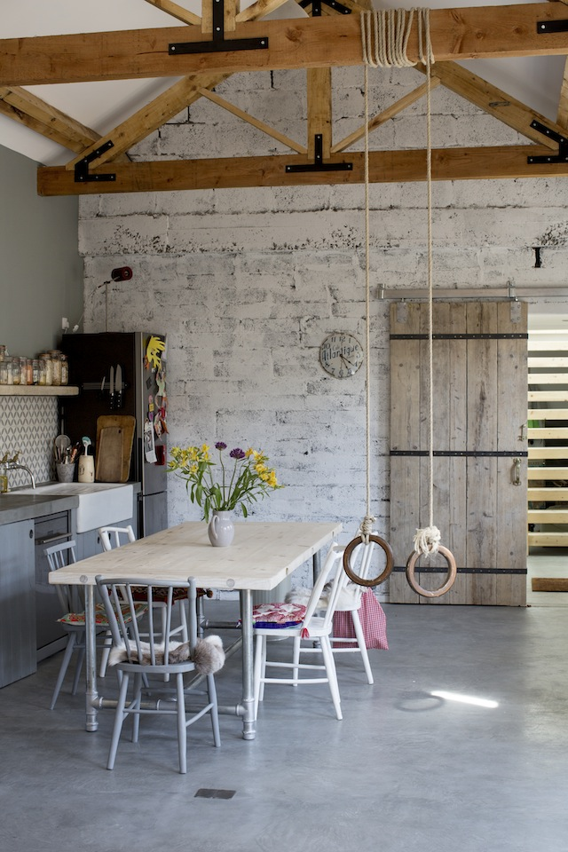 From our July-August issue; this lovely kitchen in Galway. Photography by Doreen Klifeather.