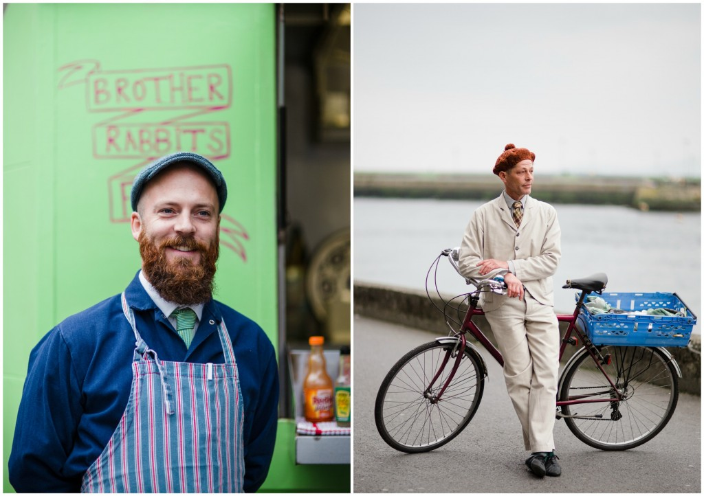 Two of the stars of our Gourmet Galway food special: Eoin Coyle of Brother Rabbits Food and Daniel Rosen of BoyChik Doughnuts. Photography: Nathalie Marquez Courtney.