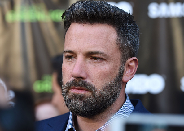 """LOS ANGELES, CA - AUGUST 10: Actor Ben Affleck attends the Project Greenlight Season 4 Winning Film premiere """"The Leisure Class"""" presented by Matt Damon, Ben Affleck, Adaptive Studios and HBO at The Theatre at Ace Hotel on August 10, 2015 in Los Angeles, California. (Photo by Angela Weiss/Getty Images)"""