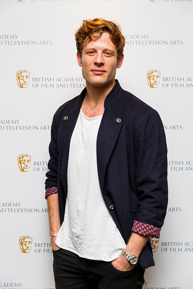 LONDON, ENGLAND - OCTOBER 06: James Norton attends a photocall for the BAFTA Breakthrough Brits Jury at BAFTA on October 6, 2015 in London, England. (Photo by Tristan Fewings/Getty Images)
