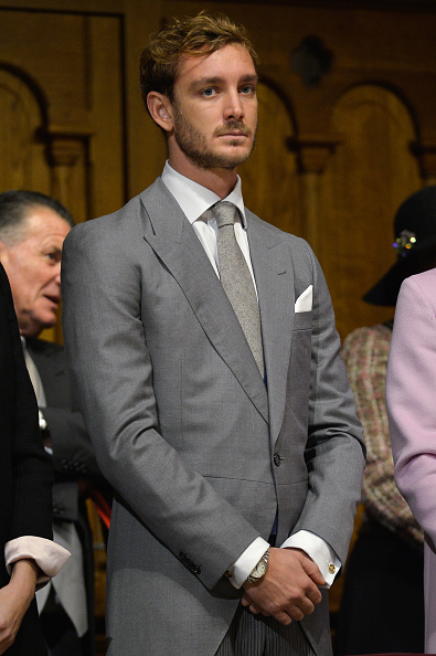 MONACO - NOVEMBER 19: Pierre Casiraghi attends a mass at the Cathedral of Monaco during the official ceremonies during the Monaco National Day Celebrations on November 19, 2015 in Monaco, Monaco. (Photo by Pascal Le Segretain/Getty Images)