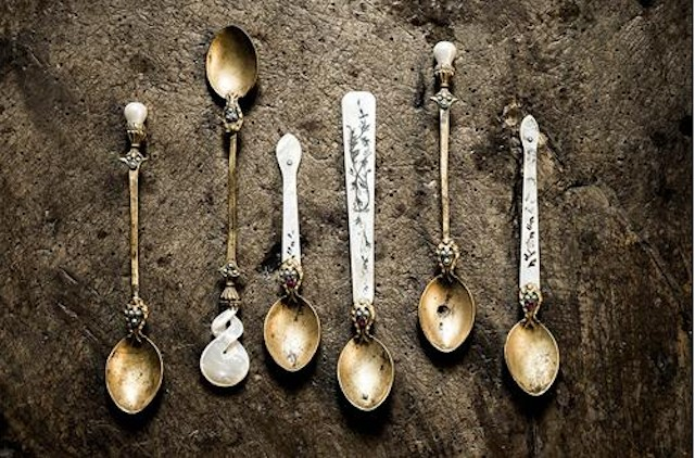 Antique cutlery from Yoruk